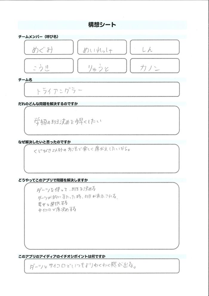 トライアングラー_構想シート